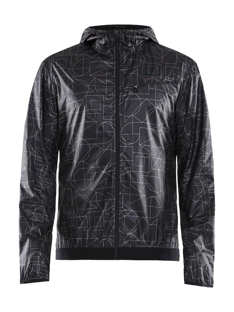Kurtka męska Craft Lumen Wind Jacket, czarna