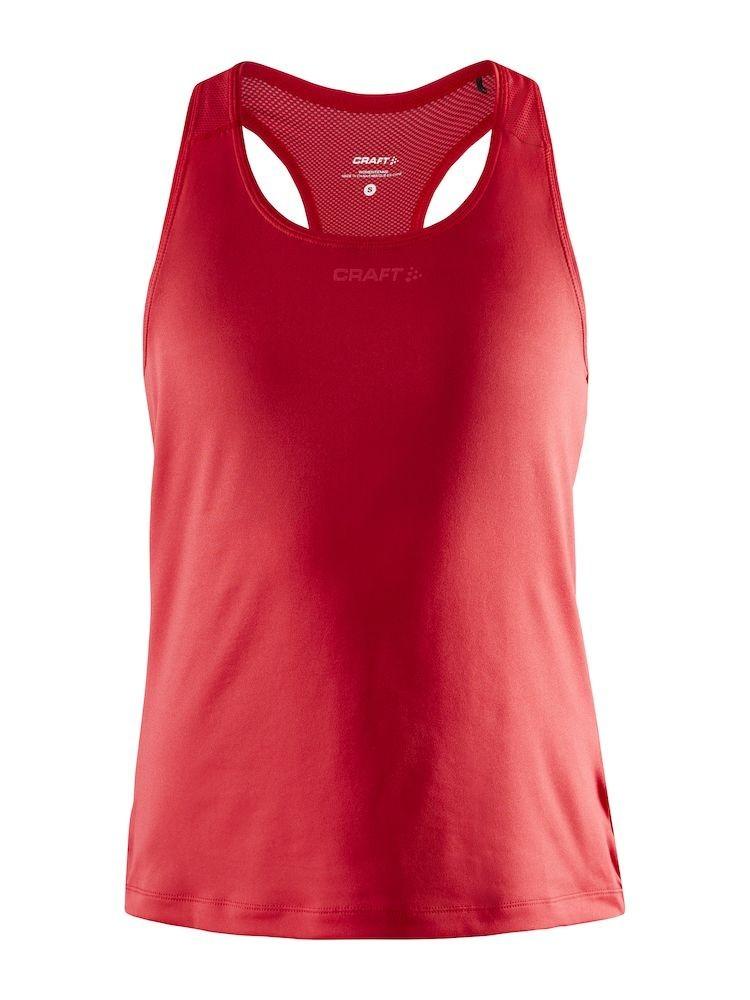 Koszulka na rami±czkach damska Craft ADV Essence Singlet Czerwona