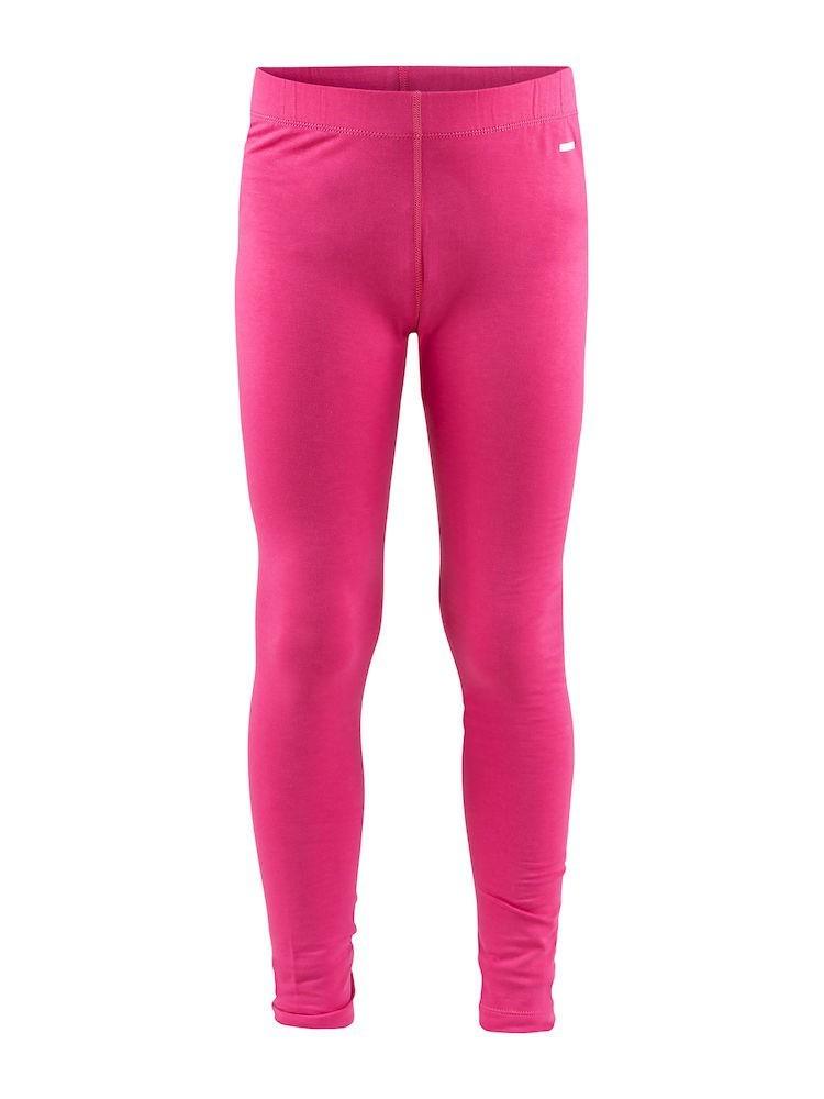 Spodnie termoaktywne dziecięce Craft Essential Warm Pants, różowe