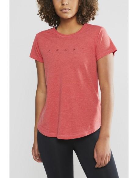 Koszulka damska Craft Deft 2.0 TEE Różowa