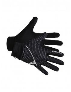 Rękawiczki unisex Craft Jersey Czarne