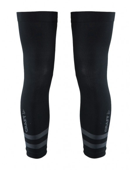 Nakolanniki rowerowe unisex Craft Seamless Knee Warmer Czarne
