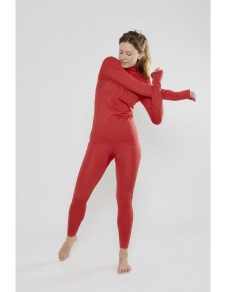 Spodnie damskie Craft Fuseknit Czerwone