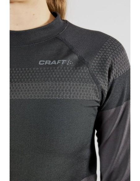 Koszulka damska Craft Warm Intensity LS Grafitowa