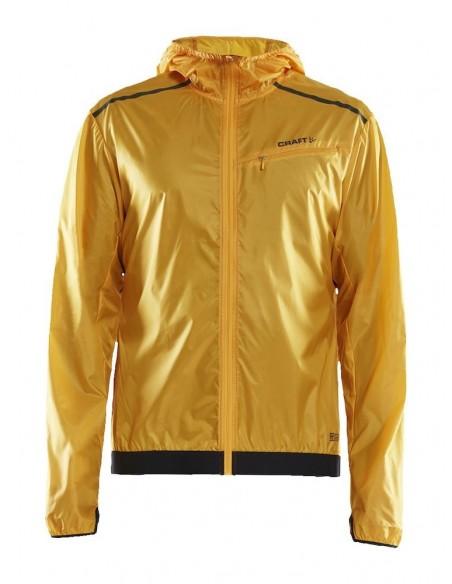 Kurtka męska Craft Wind Jacket, żółta