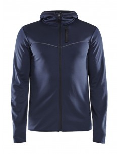 Bluza z kapturem męska Craft Eaze Sweat Hood Jacket, czarna