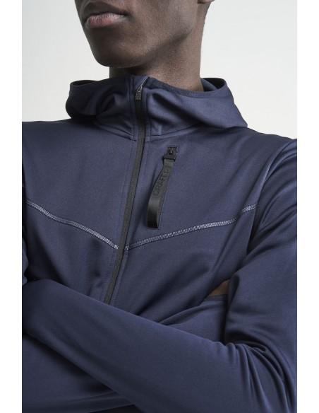 Bluza z kapturem męska Craft Eaze Sweat Hood Jacket, czarna