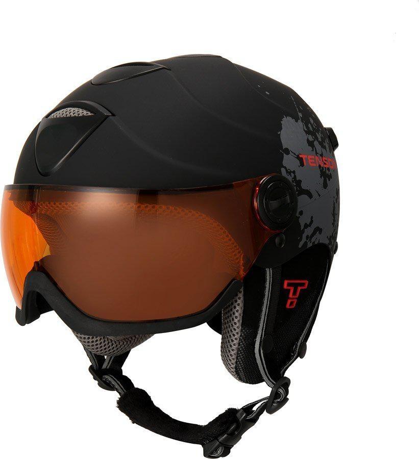 Kask narciarski Tenson Delta Visor Czarny M
