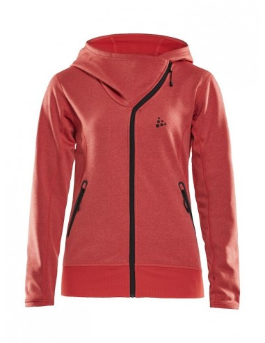 Bluza damska Craft Sports fleece assymetric, różowa