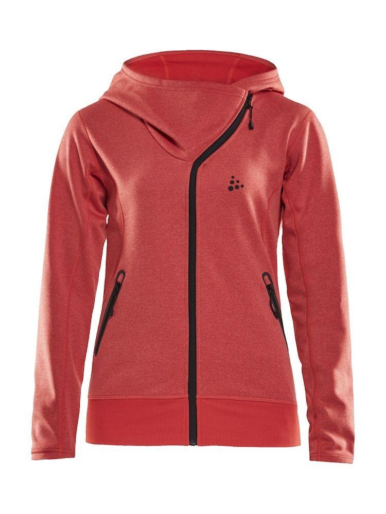 Bluza damska Craft Sports fleece assymetric, różowa XS