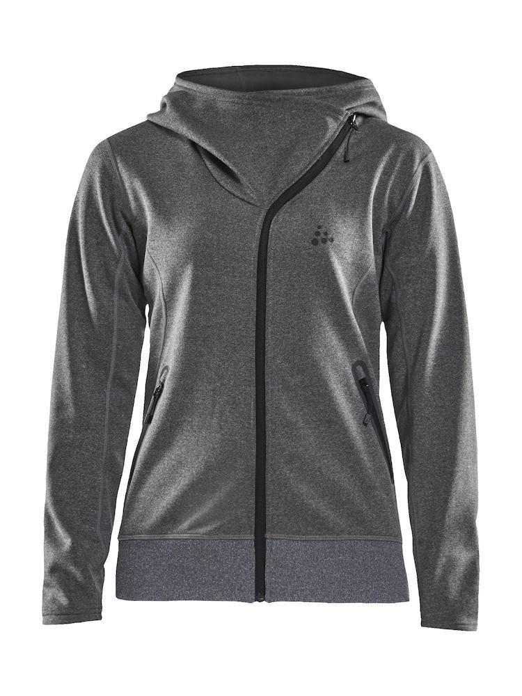 Bluza damska Craft Sports fleece assymetric, szara XS