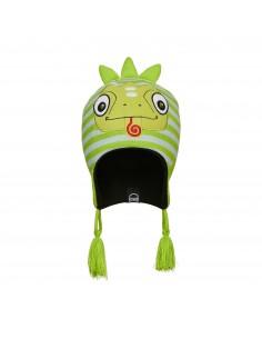Czapka dziecięca Kombi Imaginary Friend Carl The Chameleon Zielona