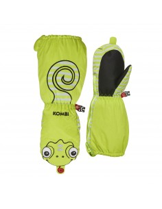 Rękawice dziecięce Kombi Imaginary Friend Carl The Chameleon Zielone
