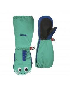 Rękawice dziecięce Kombi Imaginary Friend Dylan The Dinosaur Miętowe