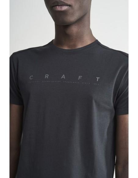 Koszulka męska Craft Deft 2.0 SS, czarna