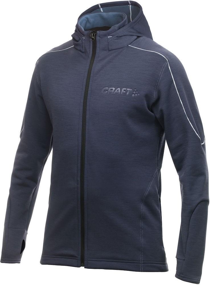 Bluza męska Craft Woolstrech L2 Granatowa M