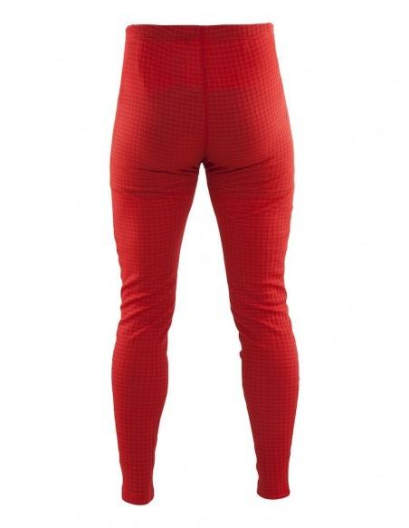 Kalesony męskie Craft Warm Wool Czerwone