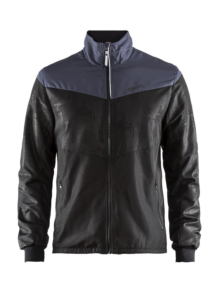 Bluza męska Craft Eaze Winter JKT Czarno-Granatowa M