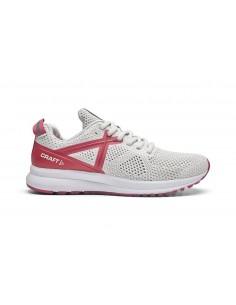Buty do biegania damskie Craft X165 Fuseknit Biało-Różowe