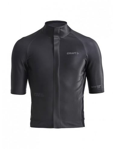 Koszulka rowerowa męska Craft CTM Goretex Czarna