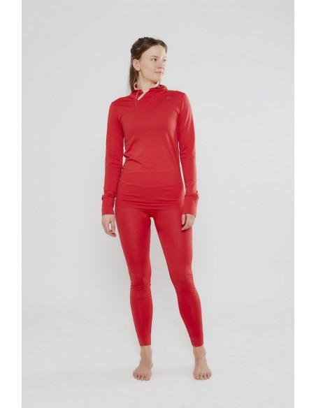 Bluzka damska Craft Fuseknit Comfort WRAP Czerwona