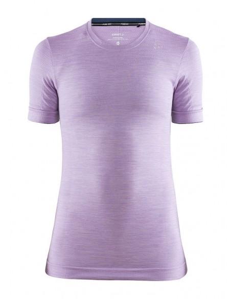 Koszulka damska Craft Fuseknit Comfort RN Jasny-Fiolet
