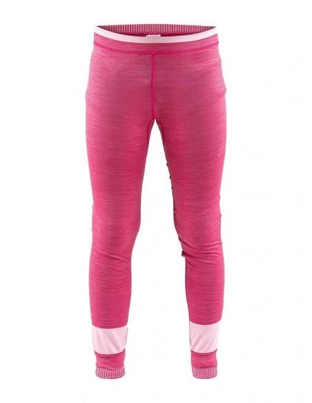 Kalesony dziecięce Craft Fuseknit Comfort Pants JR Różowe