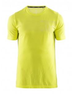 Koszulka męska Craft Fuseknit Core Żółta