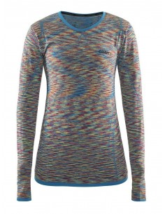 Bluzka damska Craft Active Comfort Roundneck LS Multikolor