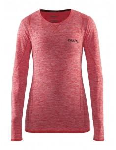 Koszulka termoaktywna damska Craft Active Comfort Roundneck LS różowa