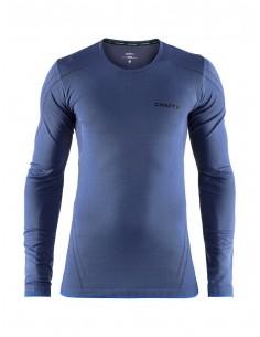 Koszulka męska z długim rękawem Craft Active Comfort Roundneck Granatowa