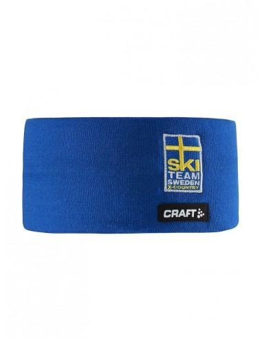 Opaska termiczna Craft Ski Team Voyage Sweden Niebieska