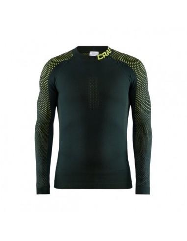 Koszulka termoaktywna męska Craft Warm Intensity CN LS, zielona