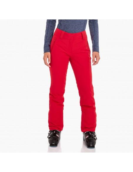 Spodnie narciarskie damskie Schoffel Davos2 Czerwone