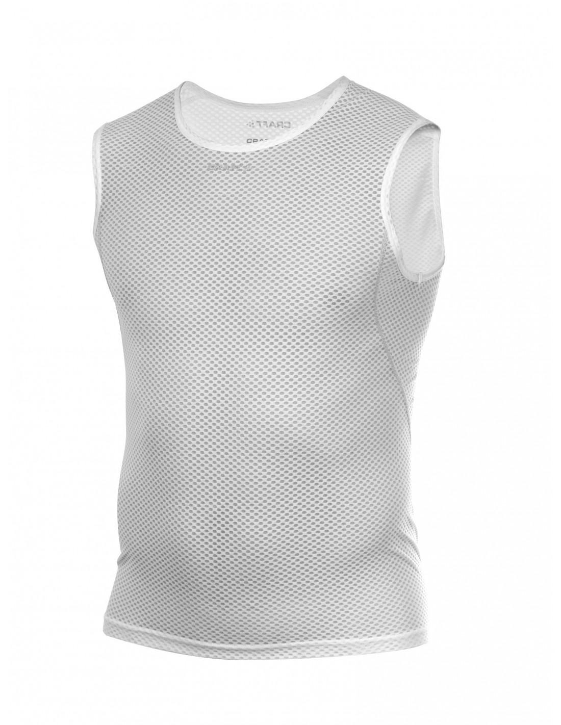 0b58b73639e80 Ultralekka meshowa koszulka męska Craft Cool Mesh Superlight biała ...