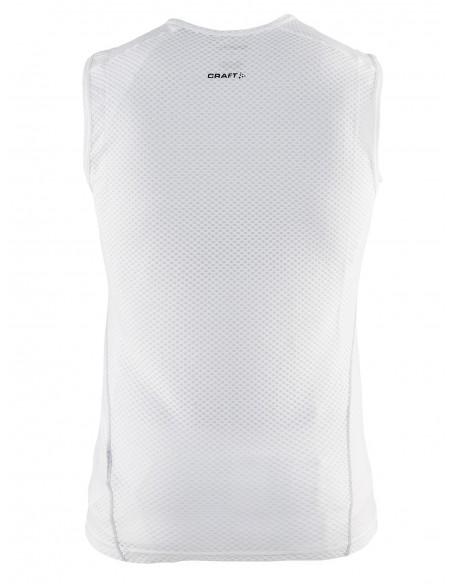 Ultralekka meshowa koszulka męska Craft Cool Mesh Superlight biała