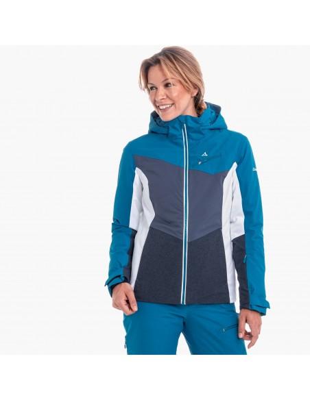 Kurtka narciarska damska Schoffel Schladming2 Niebieska