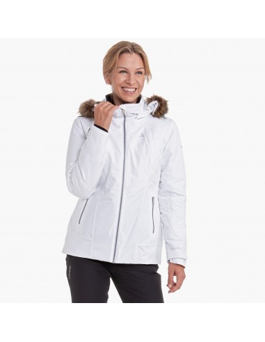 Kurtka narciarska damska Schoffel Maria Alm Biała