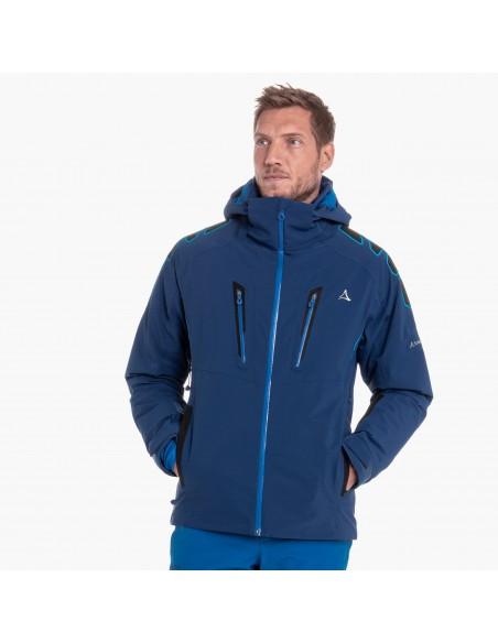 Kurtka narciarska męska Schoffel Zurs3 Niebieska