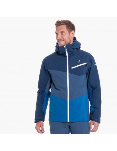 Kurtka narciarska męska Schoffel Bad Gastein Niebieska