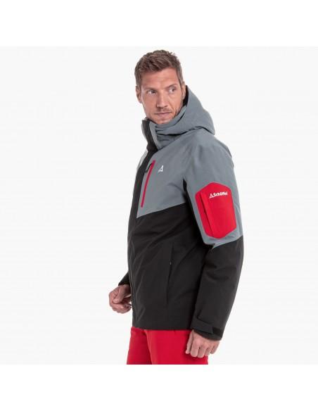 Kurtka narciarska męska Schoffel Bozen2 Czarno-Szara