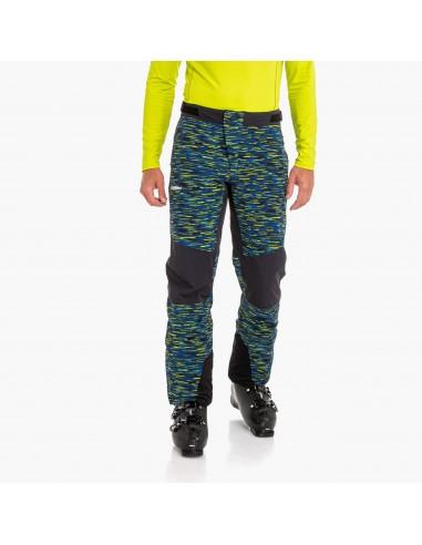 Spodnie narciarskie męskie Schoffel Arlberg2 Niebiesko-Żółte