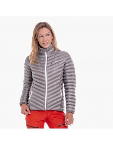 Kurtka narciarska damska Schoffel Annapolis Szara