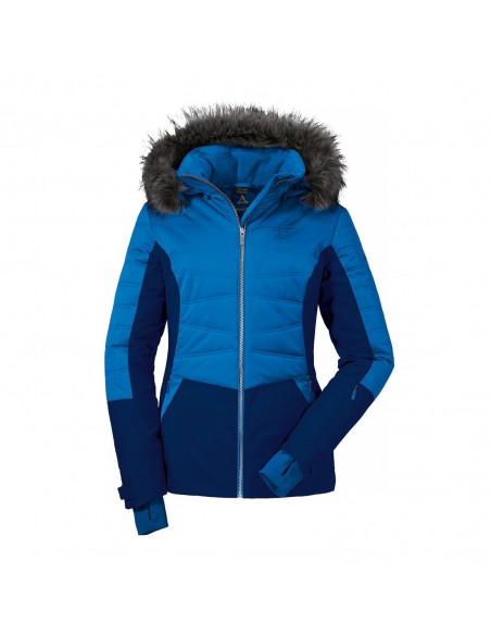 Kurtka narciarska damska Schoffel Montpellier1 Niebieska