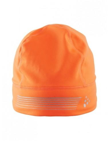 Czapka Craft Brilliant  Hat, pomarańczowa