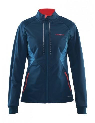 Kurtka damska Craft Storm Jacket 2.0, niebieska