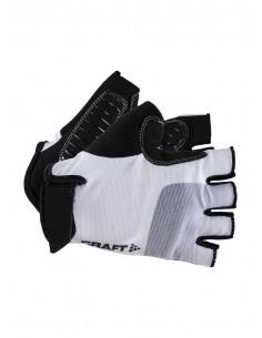Rękawiczki rowerowe Craft GO Biało-Czarne