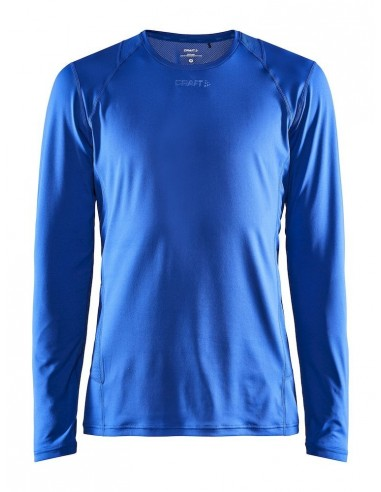 Koszulka z długim rękawem męska Craft ADV Essence LS TEE Niebieska