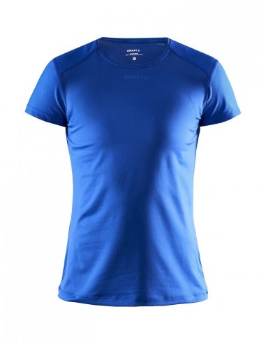 Koszulka damska Craft ADV Essence SS Slim TEE Niebieska