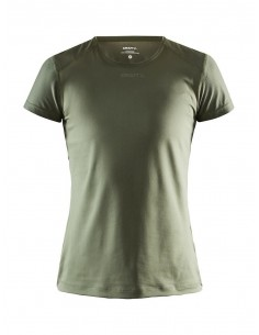 Koszulka damska Craft ADV Essence SS Slim TEE Khaki